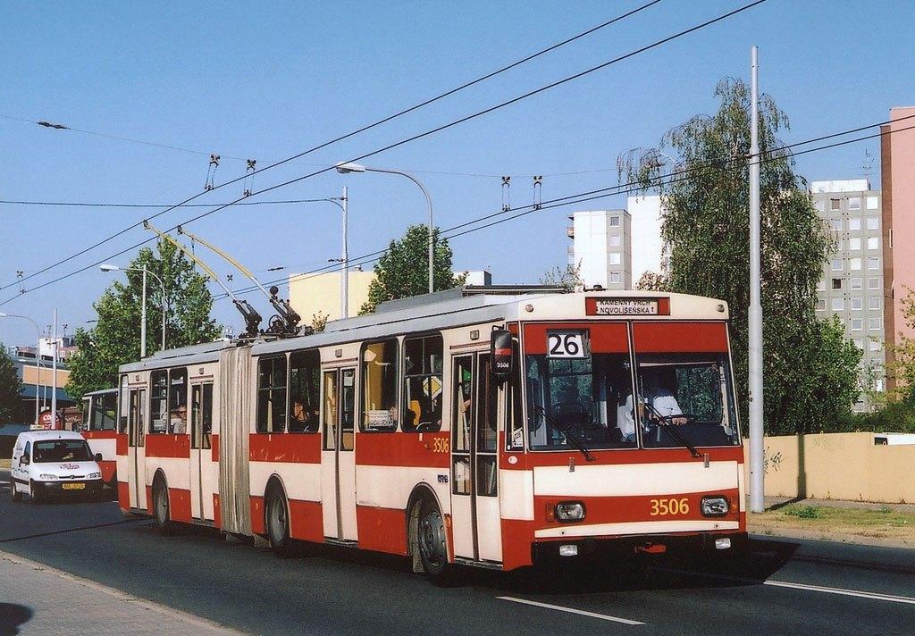 Fotogalerie » Škoda 15Tr08 3506 | Brno | Vinohrady | Bzenecká