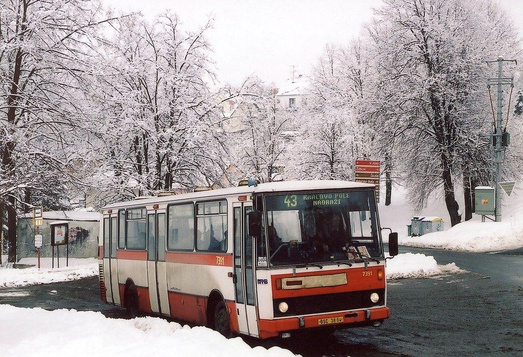 Fotogalerie » Karosa B732.1654.3 7391   Vranov   Vranov, myslivna
