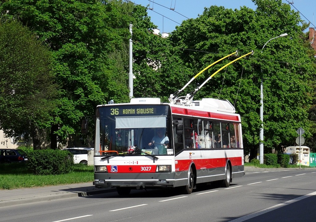 Fotogalerie » Škoda 21Tr 3027 | Brno | Žabovřesky | Zborovská
