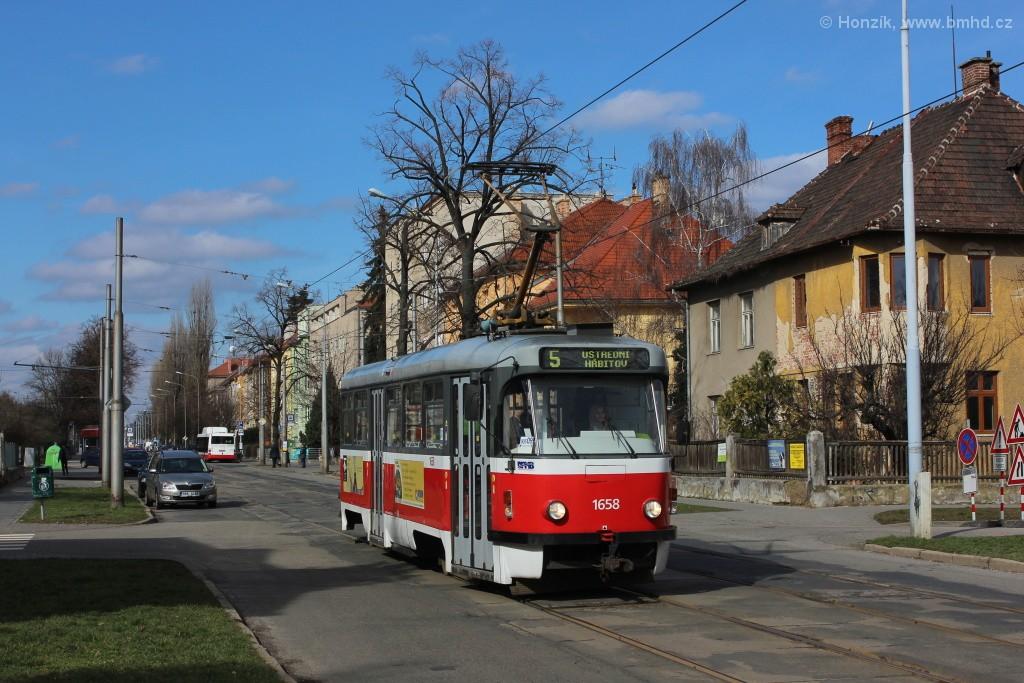 Fotogalerie » Pragoimex T3R.PV 1658   Brno   Černá Pole   Zemědělská