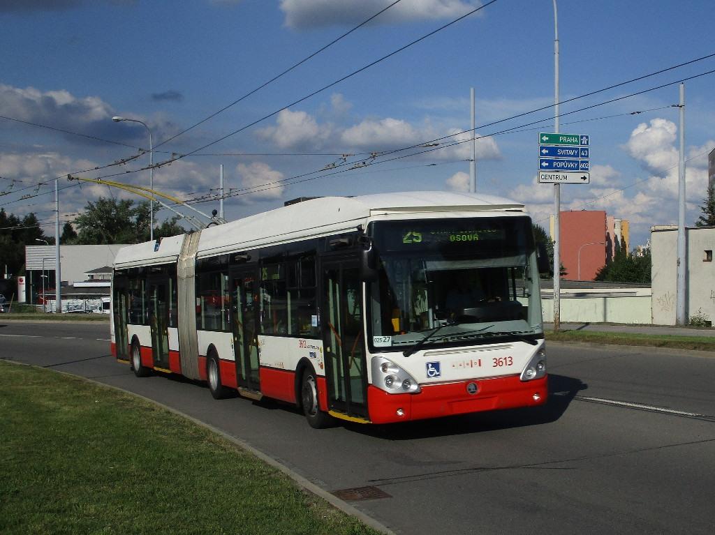 Fotogalerie » Škoda 25Tr Citelis 1B 3613 | Brno | Starý Lískovec | Osová