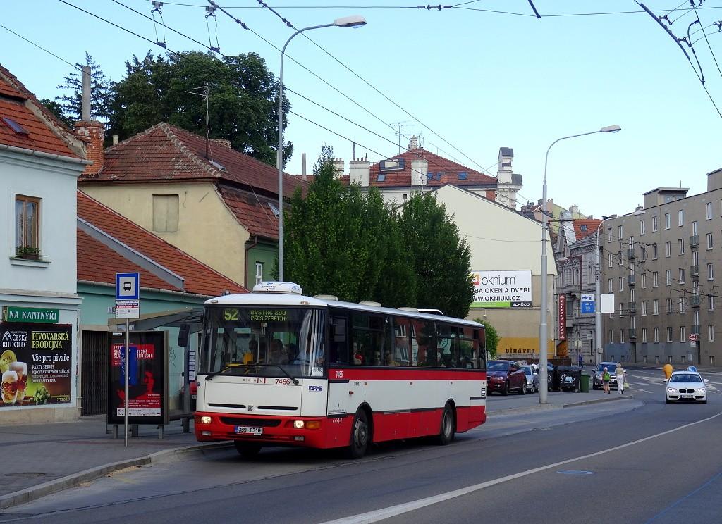 Fotogalerie » Karosa B951E.1713 3B9 8316 7486 | Brno | Pisárky | Hlinky | Výstaviště, hlavní vstup