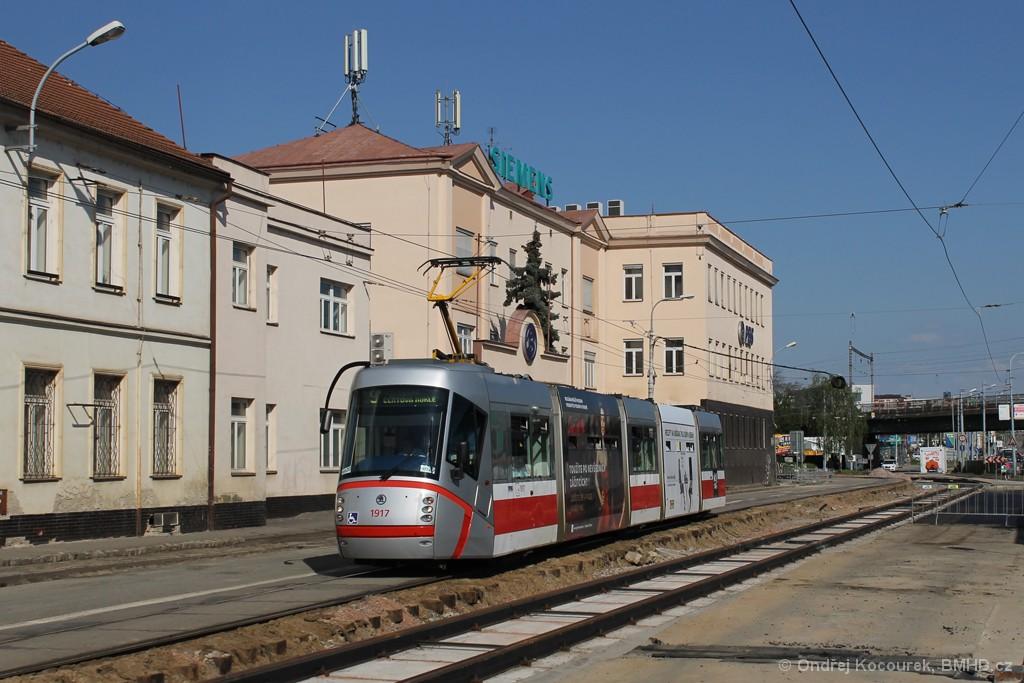 Fotogalerie » Škoda 13T4 1917 | Brno | Černovice | Olomoucká