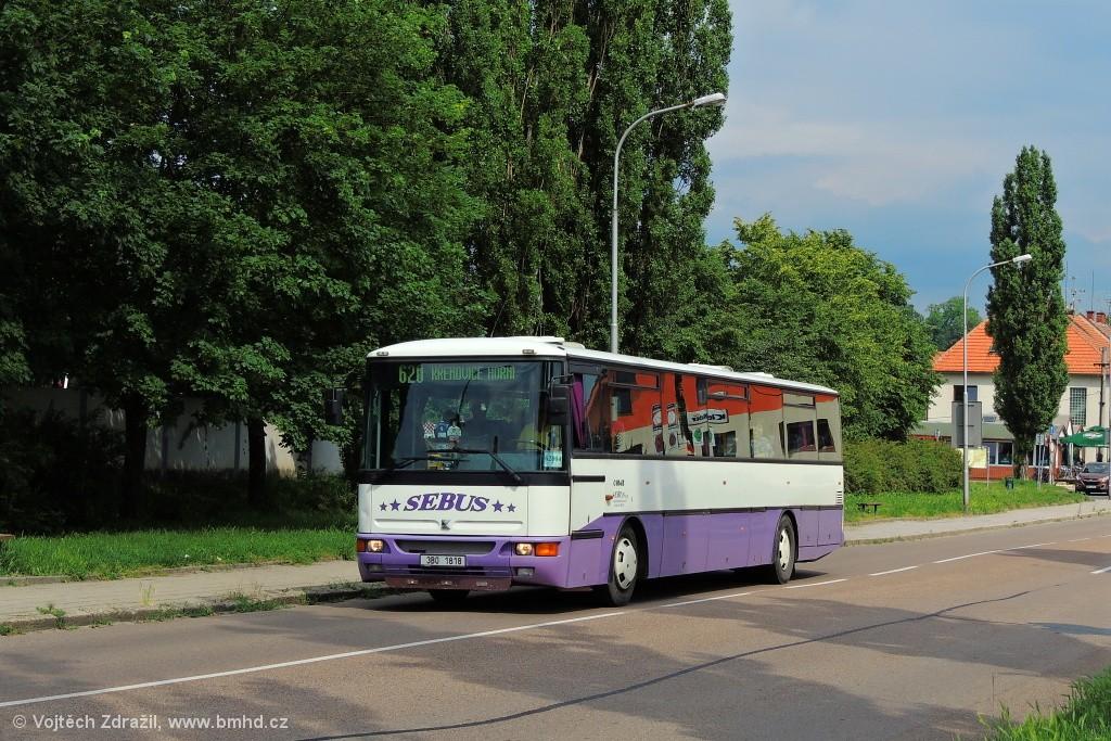 Fotogalerie » Karosa C954E.1360 3B0 1818   Slavkov u Brna   Československé armády