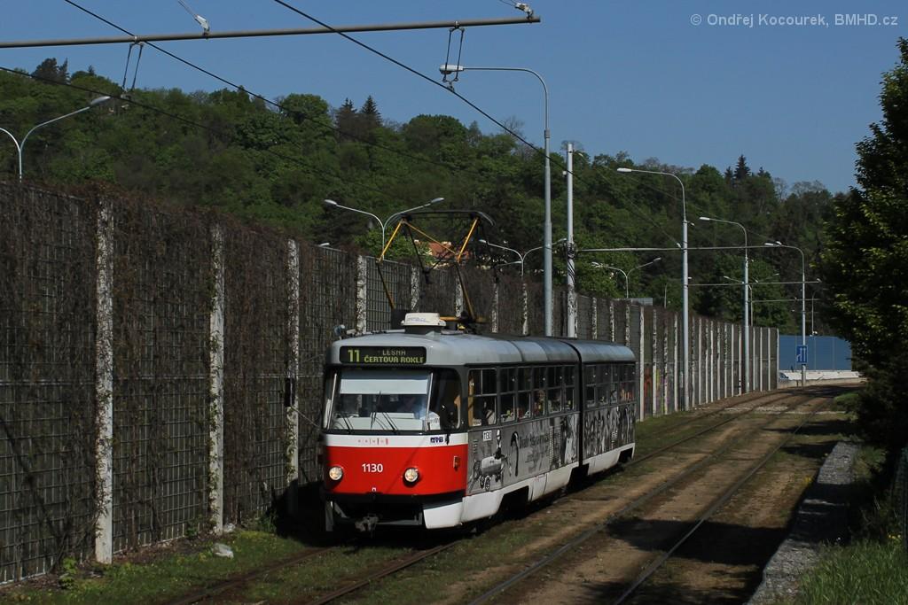Fotogalerie » ČKD Tatra K2 1130 | Brno | Pisárky | Hlinky