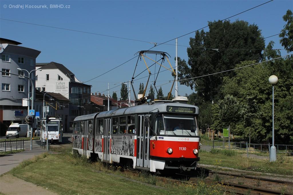 Fotogalerie » ČKD Tatra K2 1130 | Brno | Židenice | Bubeníčkova