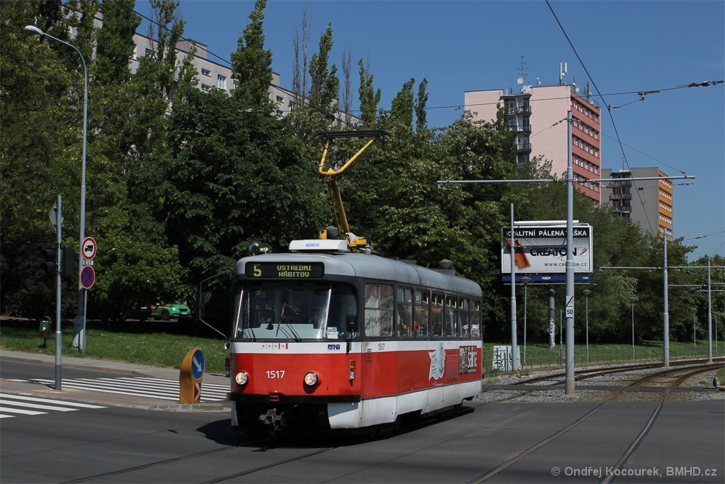 Fotogalerie » Pragoimex T3R.PV 1517   Brno   Štýřice   Vídeňská