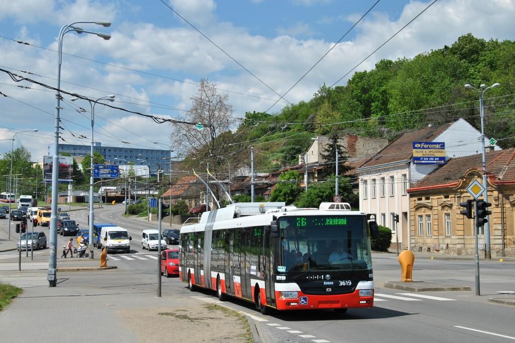 Fotogalerie » Škoda 31Tr 3619 | Brno | Husovice | Provazníkova