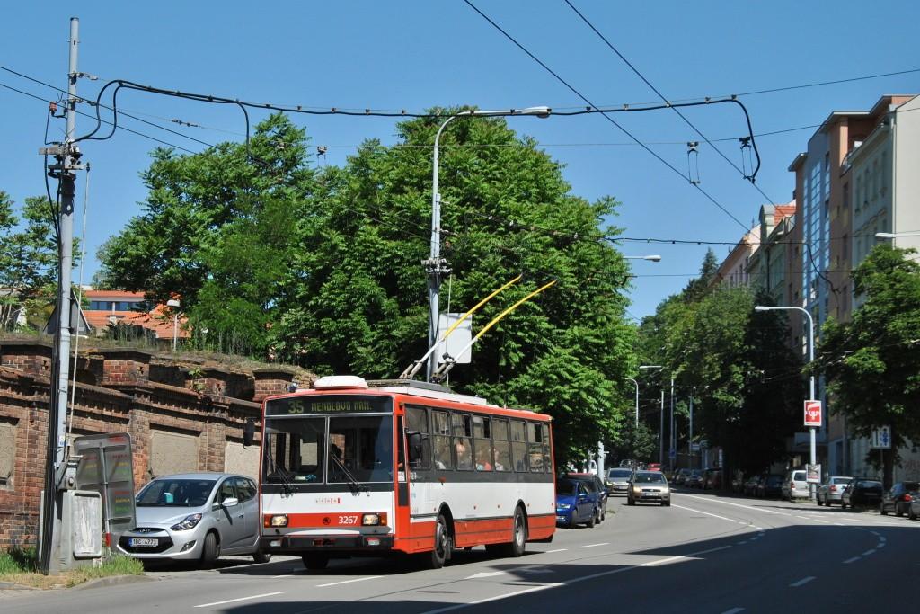 Fotogalerie » Škoda 14TrR 3267 | Brno | Staré Brno | Úvoz