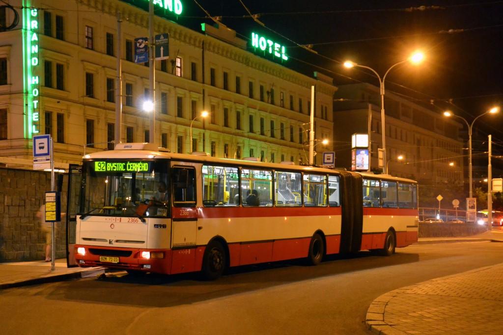 Fotogalerie » Karosa B961.1970 BZM 72-23 2366 | Brno | střed | Nádražní | Hlavní nádraží