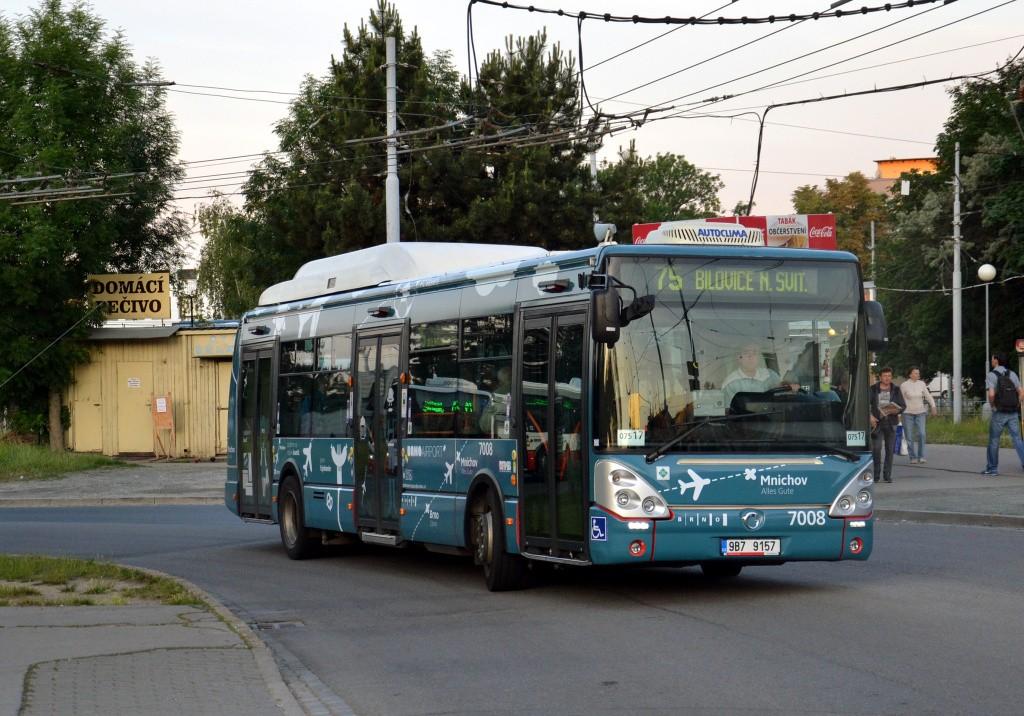 Fotogalerie » Irisbus Citelis 12M CNG 9B7 9157 7008 | Brno | Židenice | Stará Osada