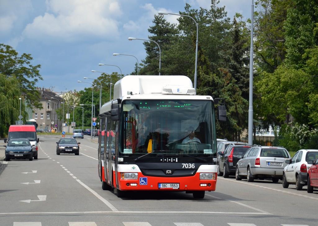 Fotogalerie » SOR NBG 12 1BC 1553 7036 | Brno | Židenice | Bubeníčkova