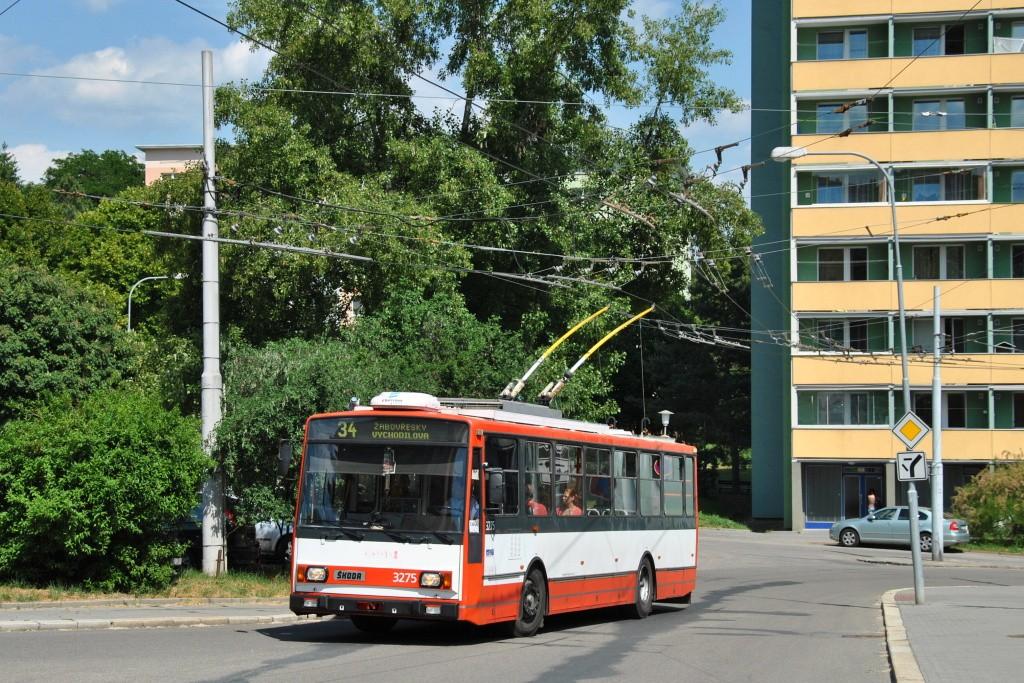 Fotogalerie » Škoda 14TrR 3275 | Brno | Žabovřesky | Vychodilova