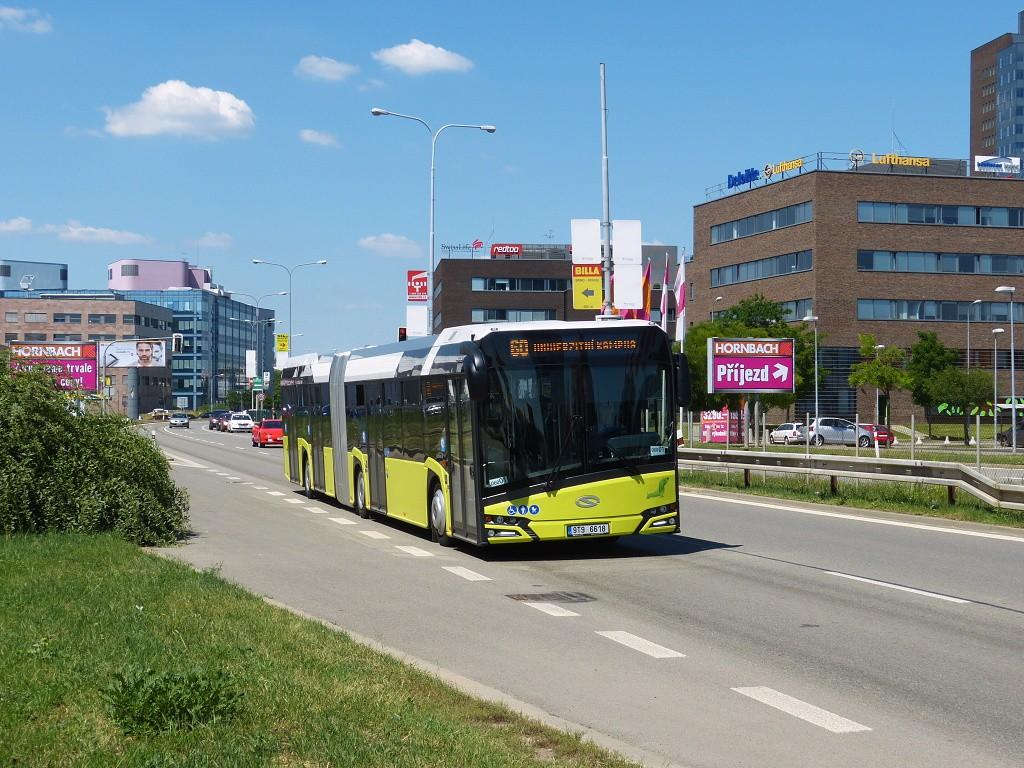 Fotogalerie » Solaris Urbino 18 IV 9T9 6618 2718   Brno   Štýřice   Heršpická