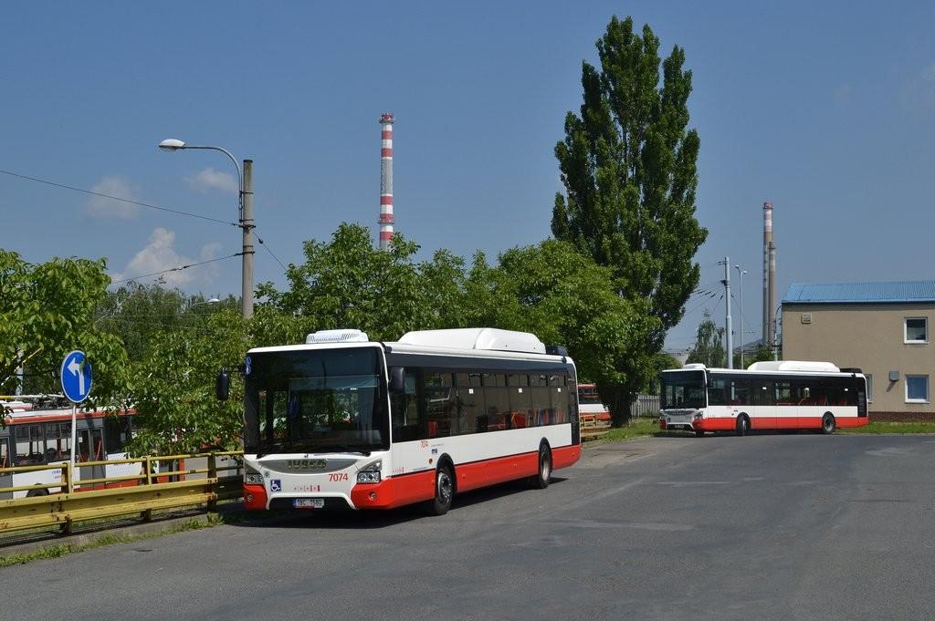 Fotogalerie » Iveco Urbanway 12M CNG 1BC 1580 7074 | Brno | Vozovna Slatina