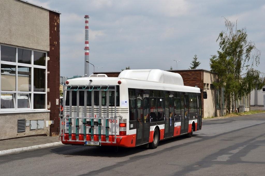 Fotogalerie » SOR NBG 12 1BC 1561 7043 | Brno | Vozovna Slatina