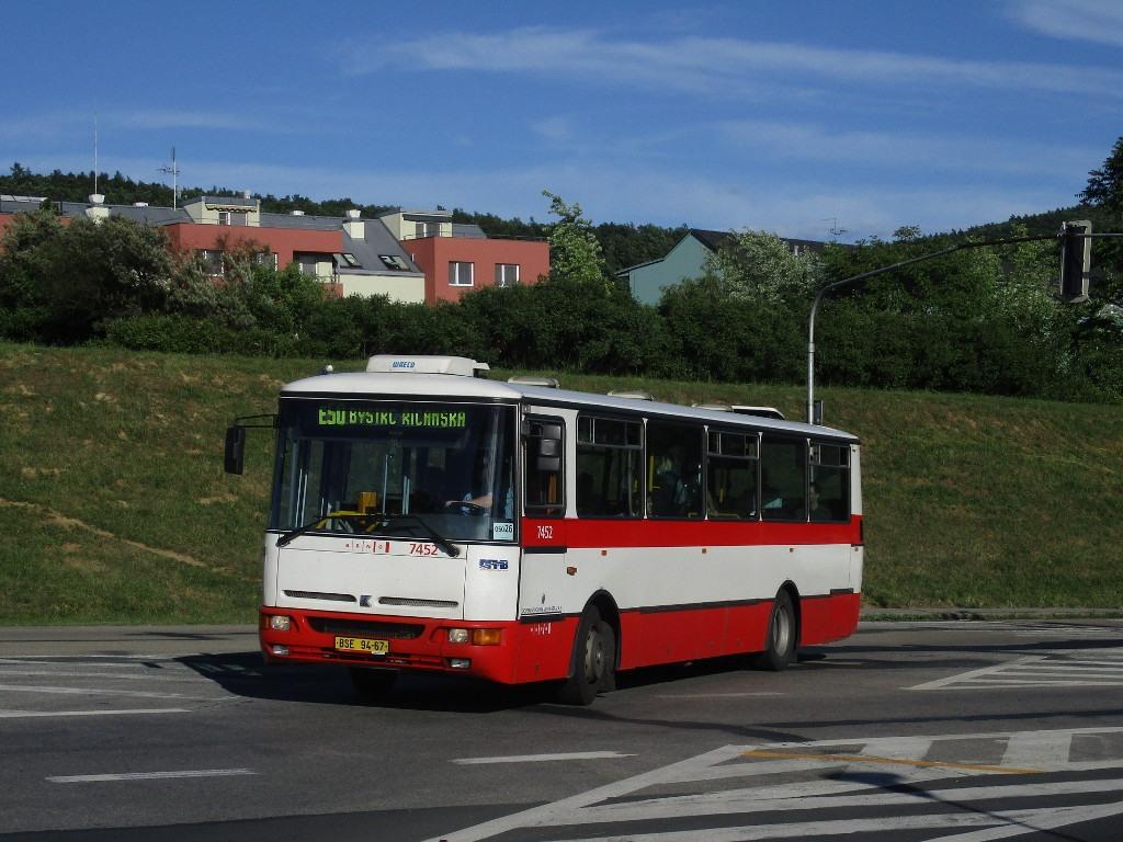Fotogalerie » Karosa B931E.1707 BSE 94-67 7452 | Brno | Bystrc | Stará Dálnice