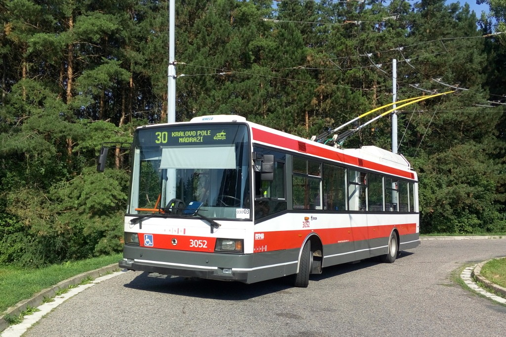 Fotogalerie » Škoda 21Tr 3052 | Brno | Bystrc | Černého