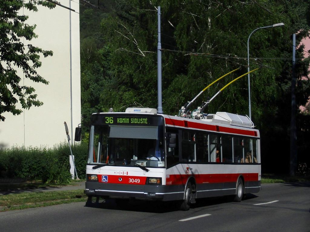 Fotogalerie » Škoda 21Tr 3049 | Brno | Komín | Řezáčova
