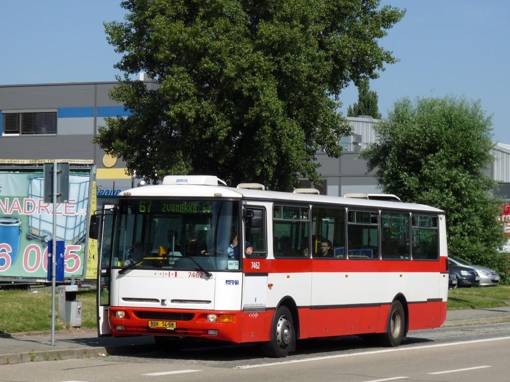 Fotogalerie » Karosa B931E.1707 BSH 14-58 7462 | Brno | střed | Sportovní | Sportovní
