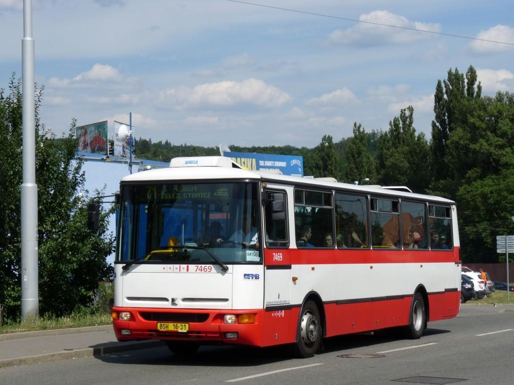 Fotogalerie » Karosa B931E.1707 BSH 16-31 7469   Brno   Medlánky   Hudcova