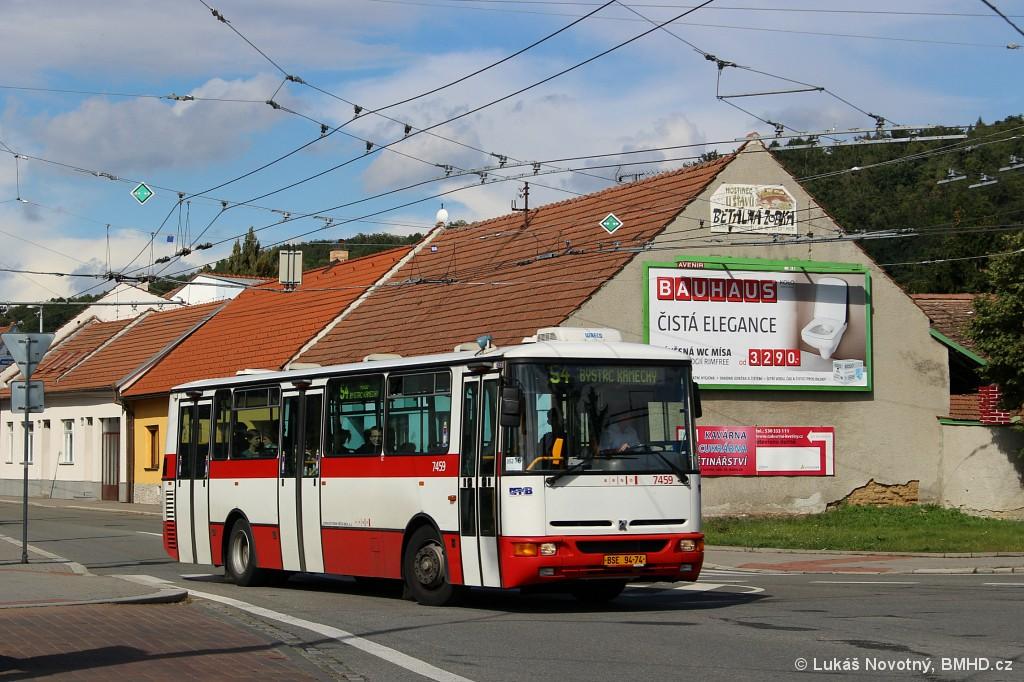 Fotogalerie » Karosa B931E.1707 BSE 94-74 7459 | Brno | Bystrc | náměstí 28. dubna