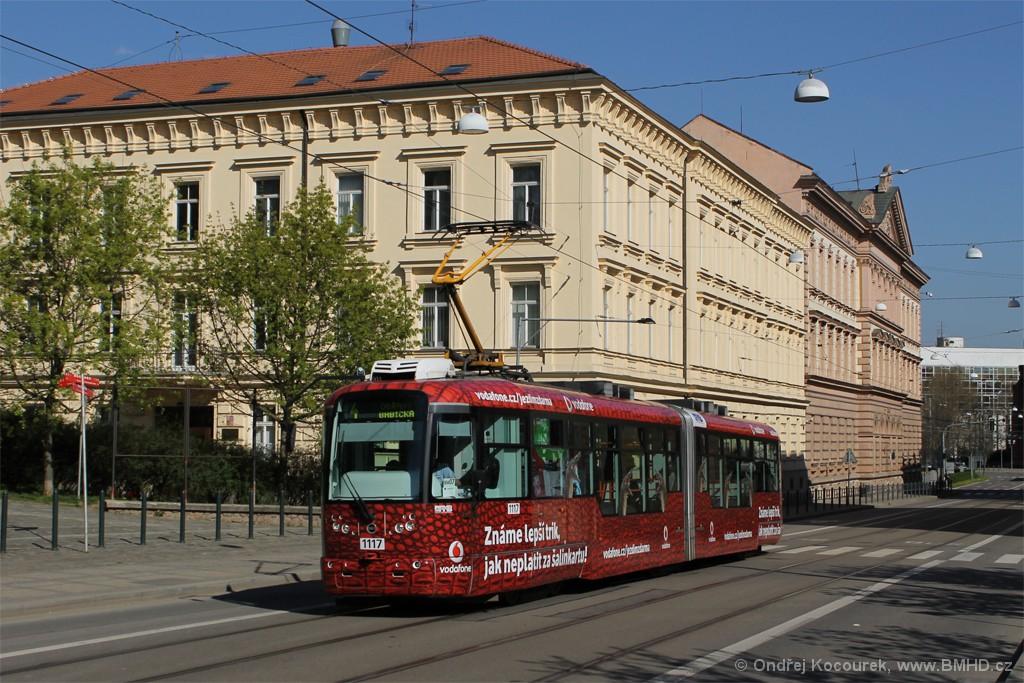 Fotogalerie » Pragoimex VarioLF2R.E 1117   Brno   střed   Husova