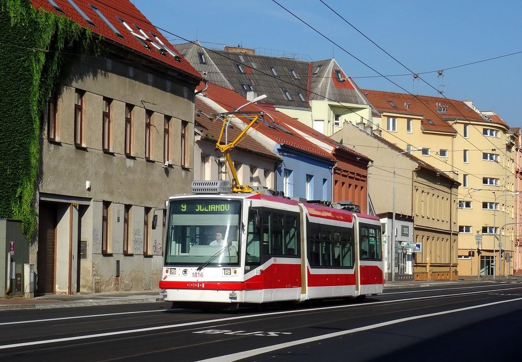 Fotogalerie » Škoda 03T6 1816 | Brno | Černovice | Olomoucká
