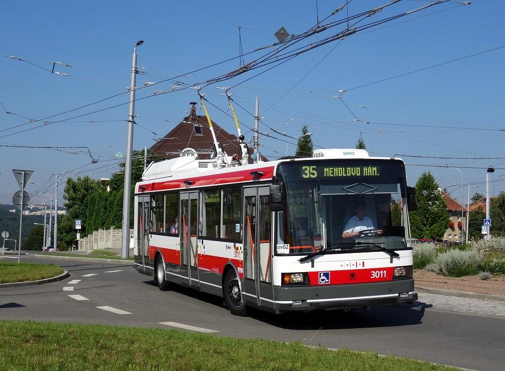 Fotogalerie » Škoda 21Tr 3011 | Brno | Masarykova čtvrť | Tvrdého