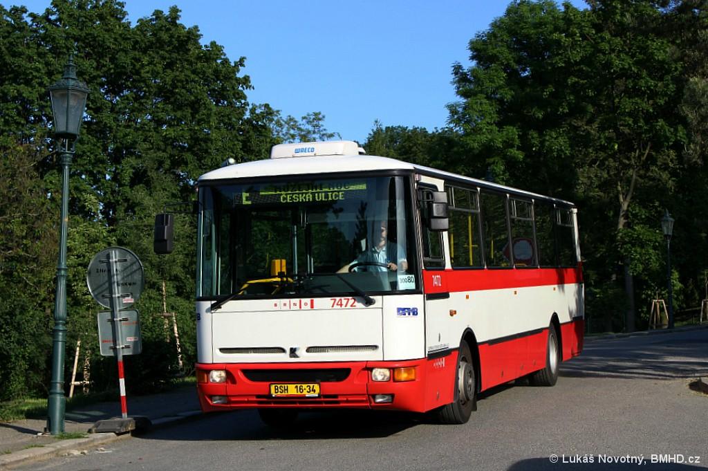 Fotogalerie » Karosa B931E.1707 BSH 16-34 7472 | Brno | střed | Gorazdova