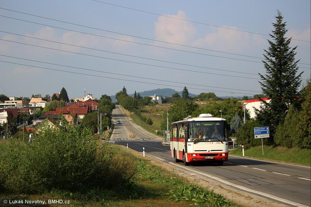 Fotogalerie » Karosa B951E.1713 3B9 8316 7486 | Brno | Ivanovice | Černohorská | Černohorská