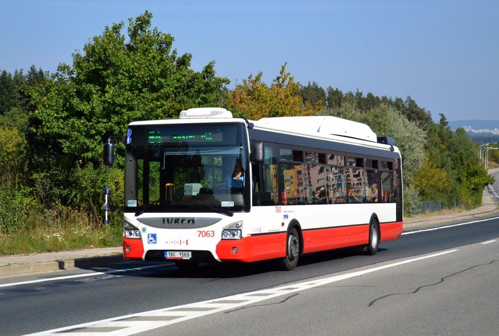 Fotogalerie » Iveco Urbanway 12M CNG 1BC 1569 7063 | Brno | Bystrc | Vejrostova