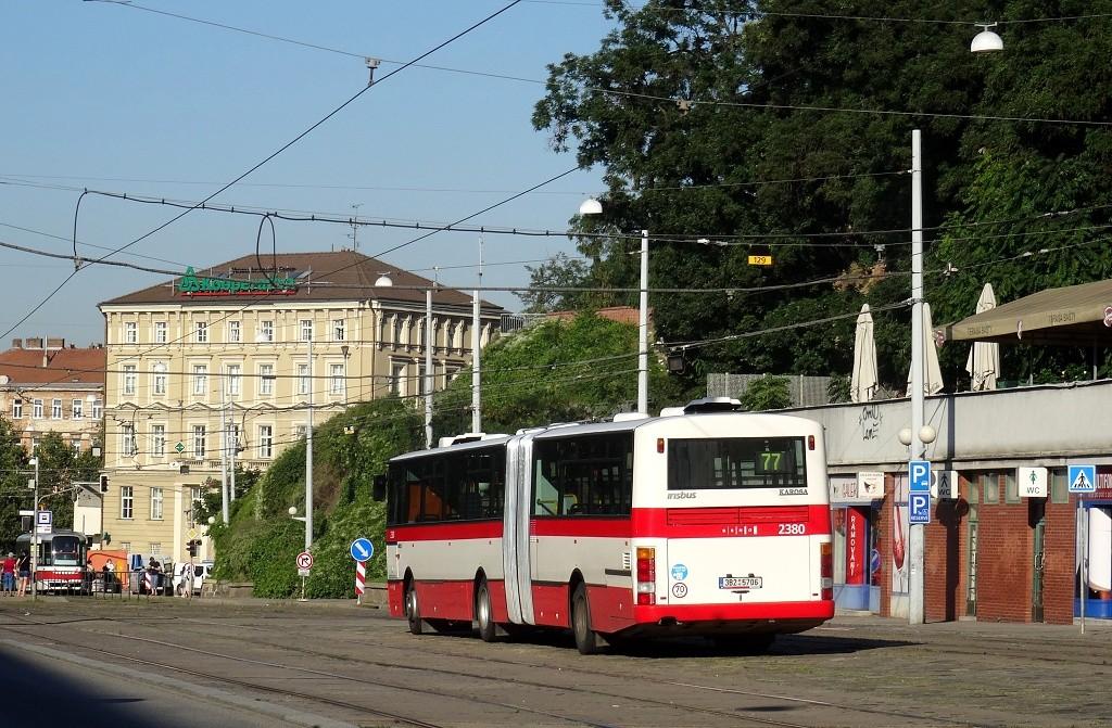 Fotogalerie » Karosa B961E.1970 3B2 5706 2380 | Brno | střed | Nádražní