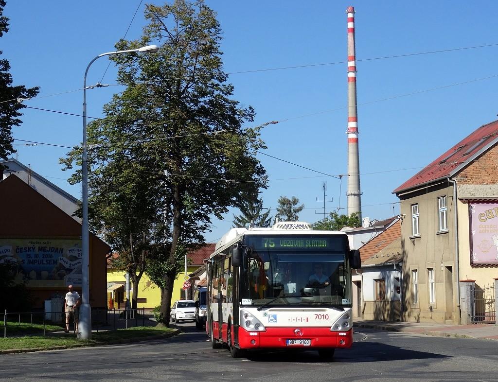 Fotogalerie » Irisbus Citelis 12M CNG 9B7 9160 7010 | Brno | Maloměřice | Selská