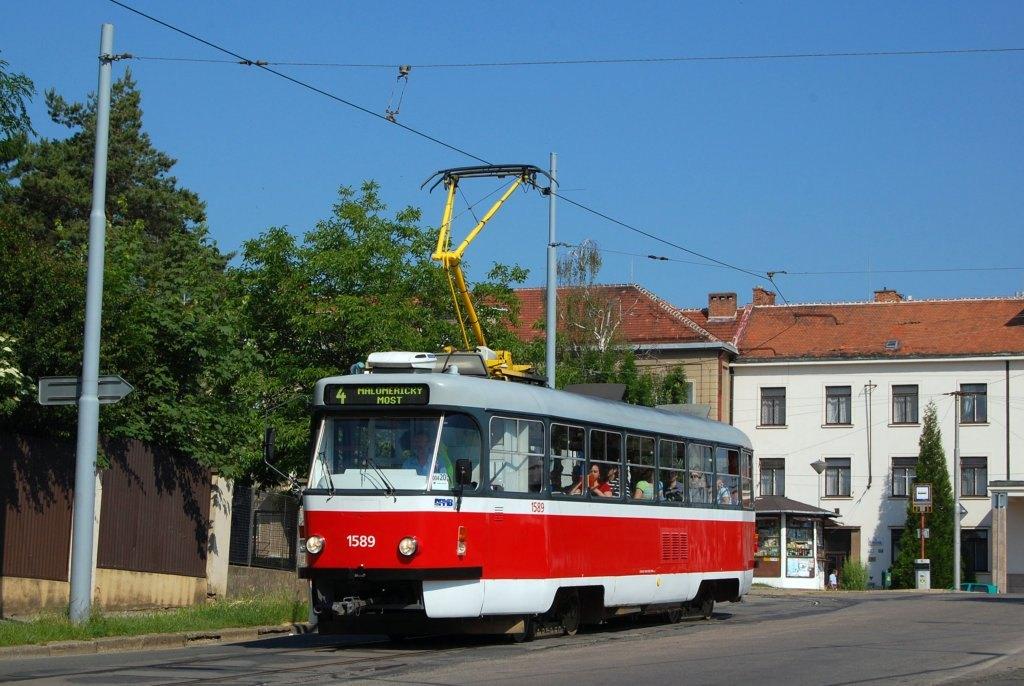 Fotogalerie » ČKD Tatra T3P 1589 | Brno | Masarykova Čtvrť | náměstí Míru