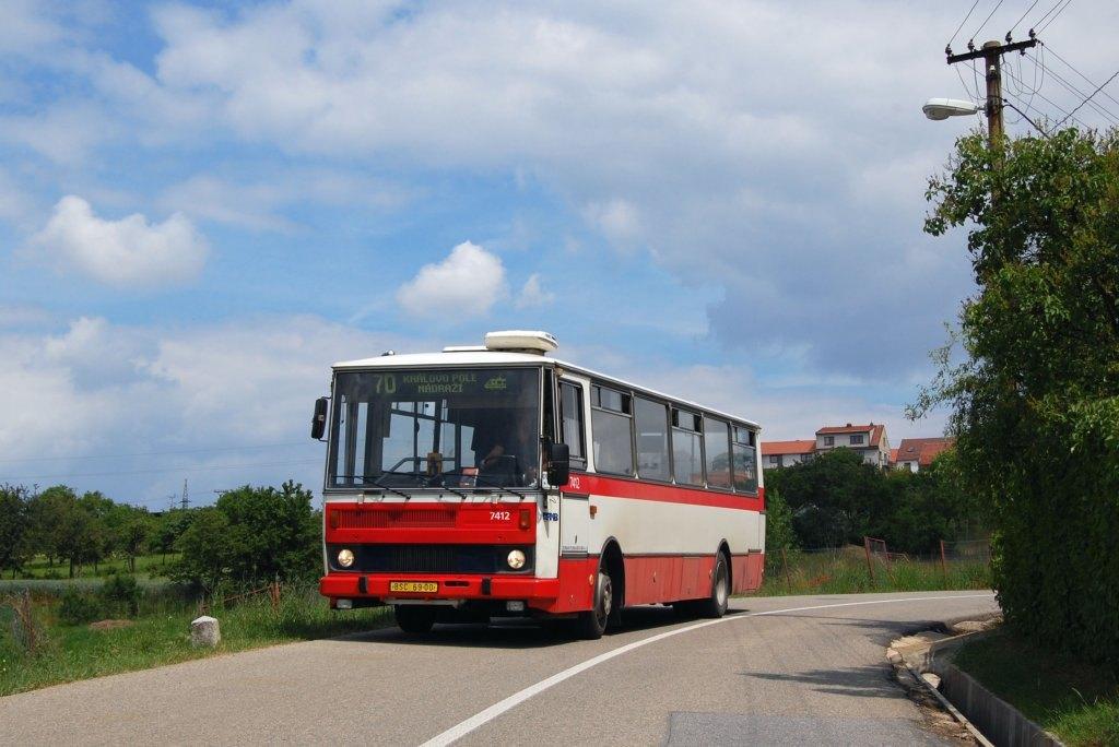 Fotogalerie » Karosa B731.1669 7412 | Brno | Ořešín | Klimešova