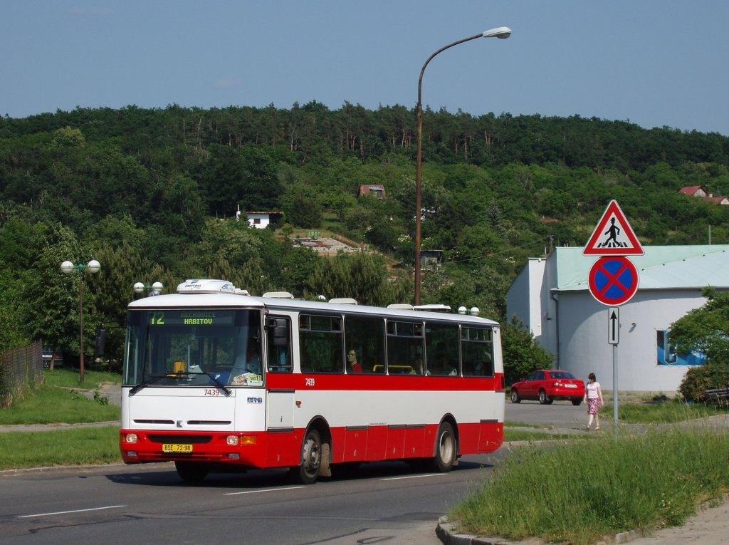 Fotogalerie » Karosa B931.1675 7439 | Brno | Řečkovice | Novoměstská
