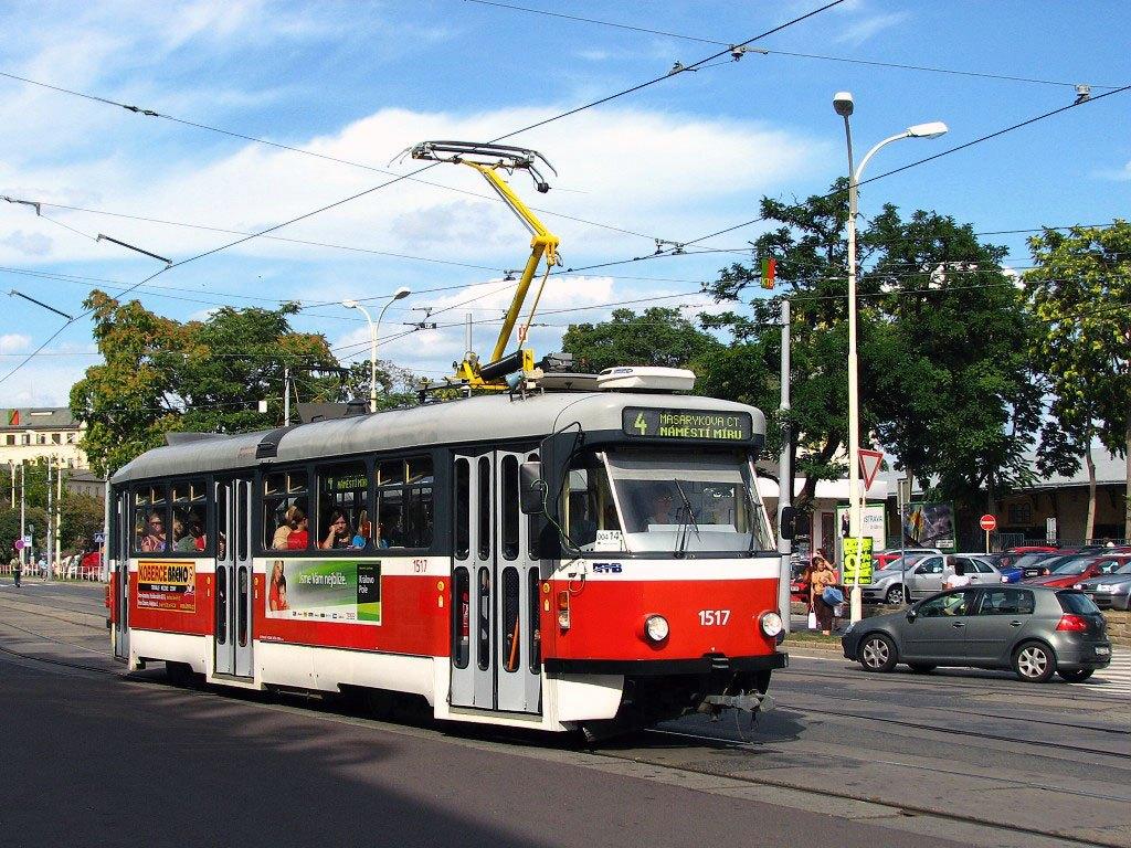 Fotogalerie » Pragoimex T3R.PV 1517 | Brno | střed | Benešova