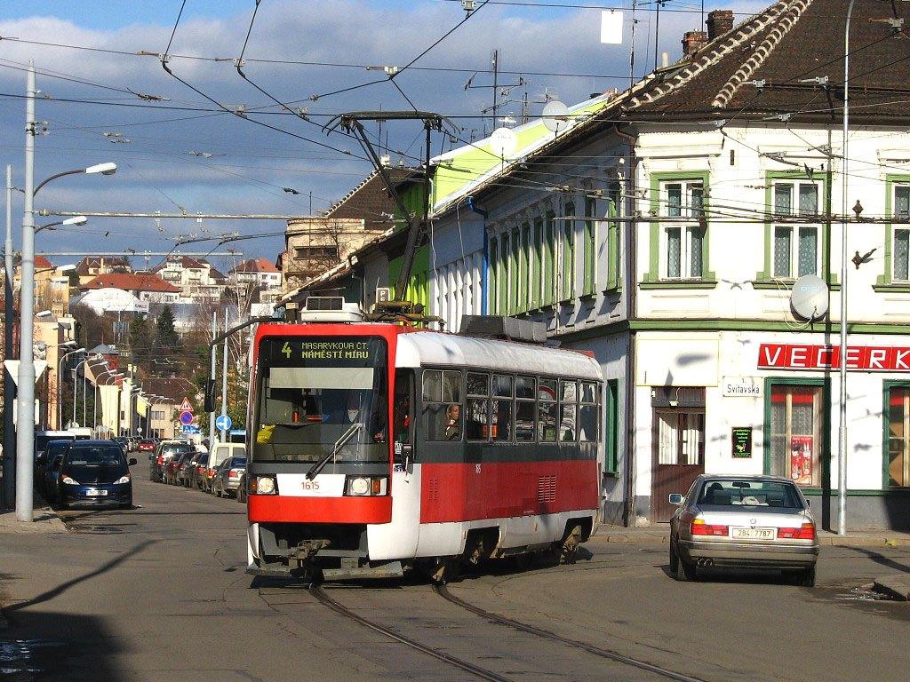 Fotogalerie » ČKD DS T3R 1615 | Brno | Husovice | Vranovská