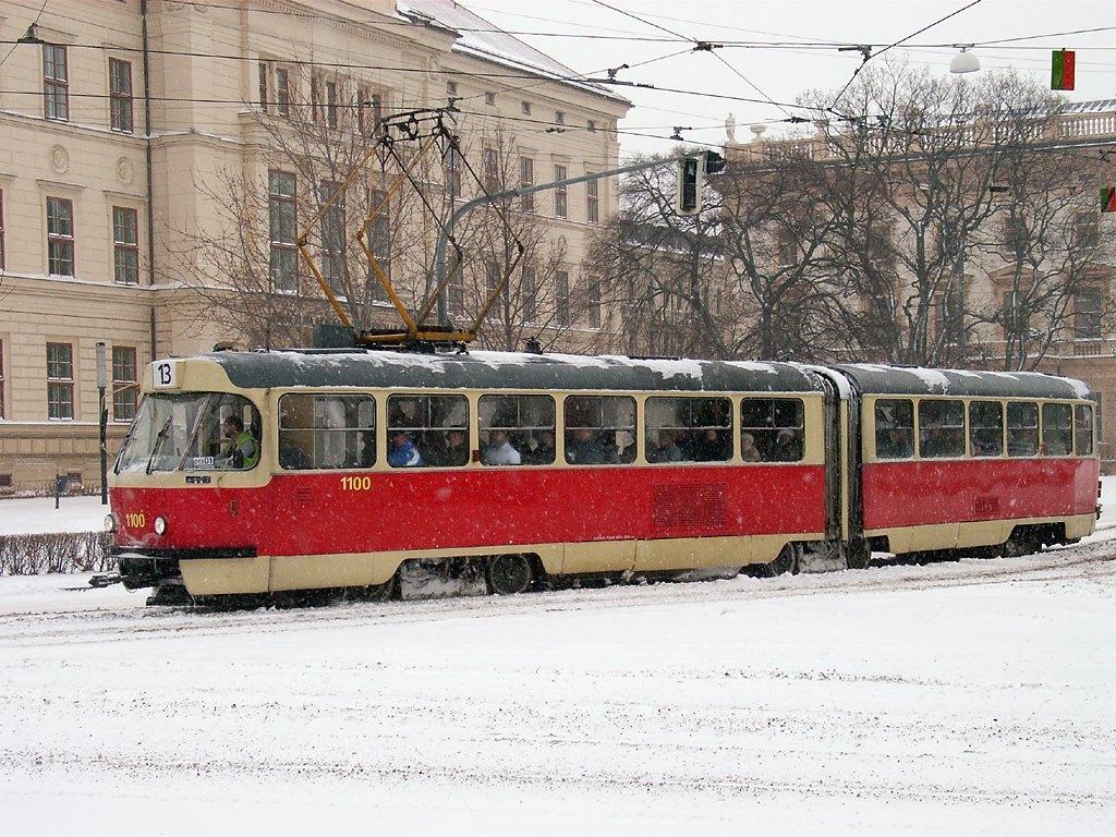 Fotogalerie » ČKD Tatra K2 1100 | Brno | střed | Komenského náměstí