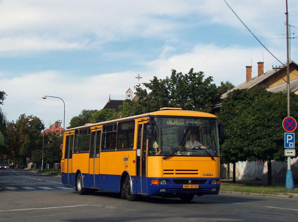 Fotogalerie » Karosa B932 BVH 97-43 | Břeclav | Stromořadí