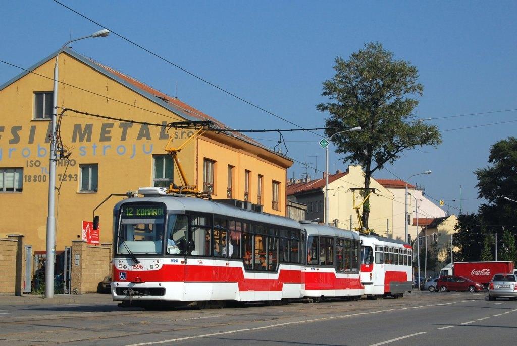 Fotogalerie » Pragoimex VarioLFR.E 1596 | Pragoimex VV60LF 1304 | Pragoimex T3R.EV 1560 | Brno | Trnitá | Dornych