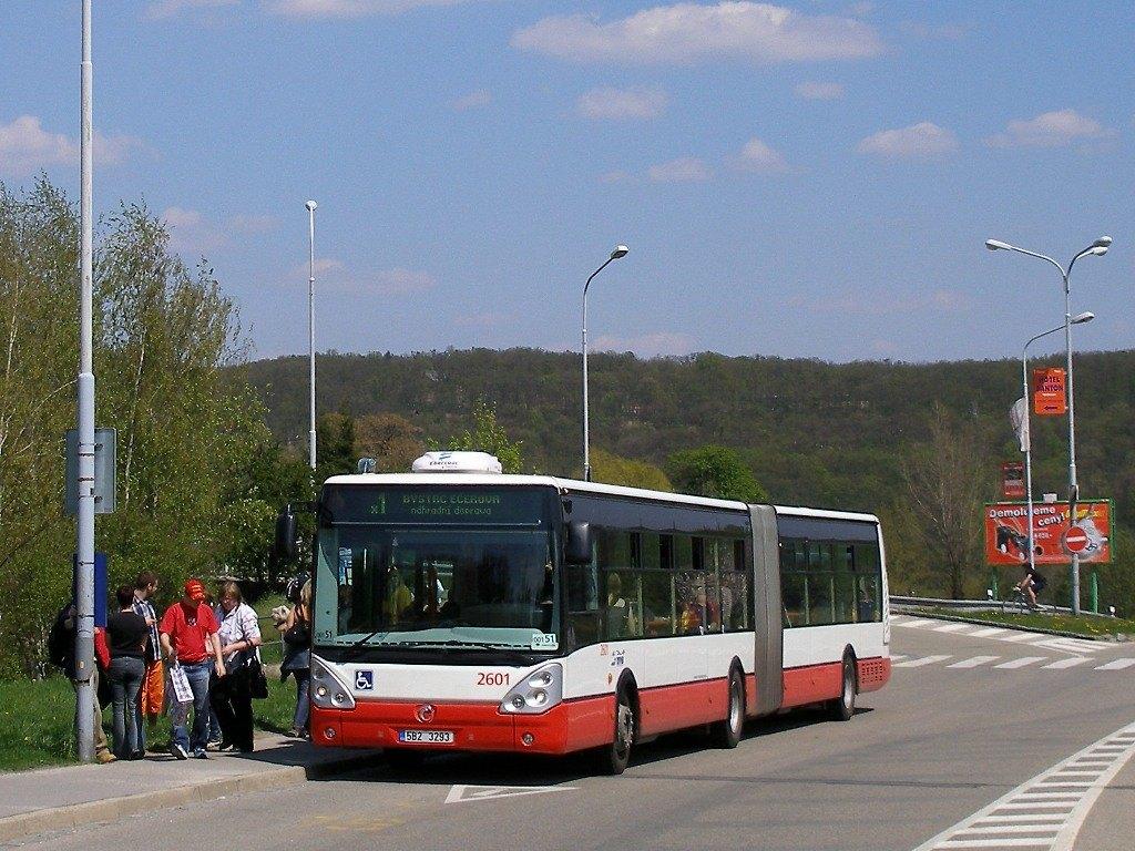 Fotogalerie » Irisbus Citelis 18M 2601 | Brno | Bystrc | Obvodová | Přístaviště