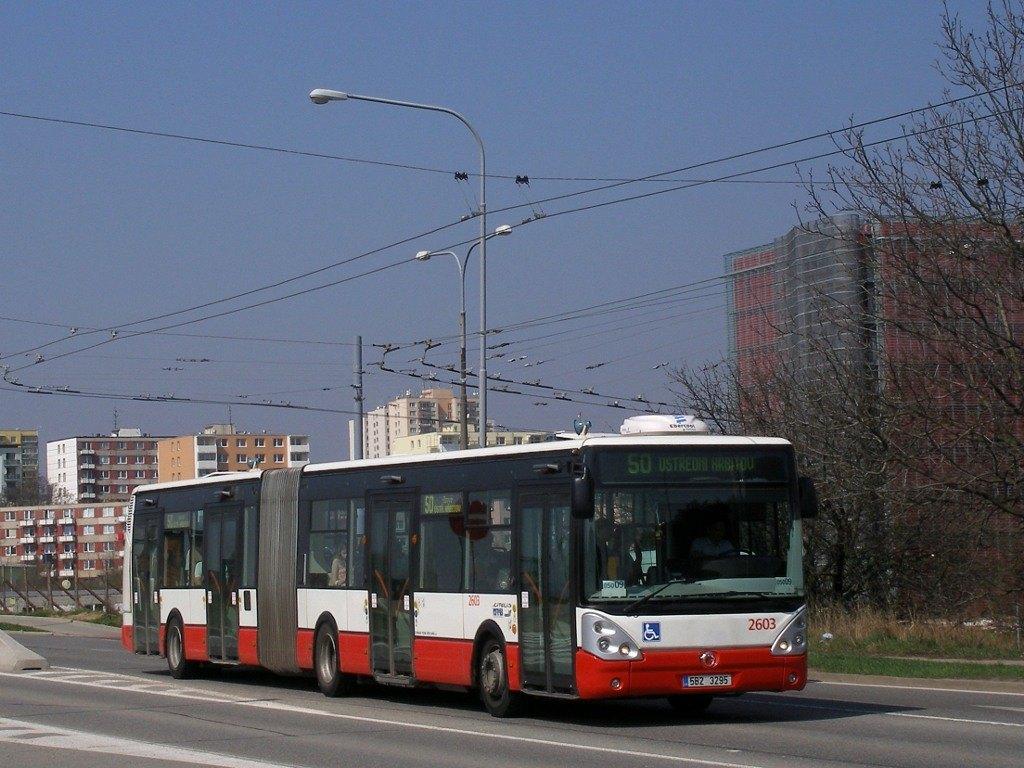 Fotogalerie » Irisbus Citelis 18M 2603   Brno   Bohunice   Jihlavská