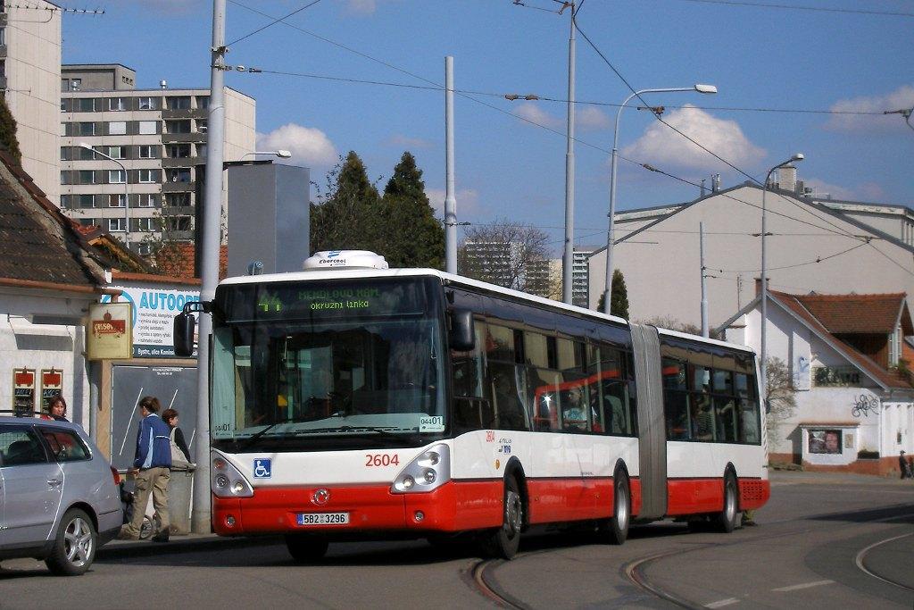 Fotogalerie » Irisbus Citelis 18M 2604 | Brno | Žabovřesky | Sochorova | Rosického náměstí