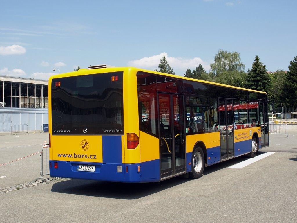 Fotogalerie » Mercedes-Benz Citaro 4B2 7279 | Brno | Výstaviště BVV