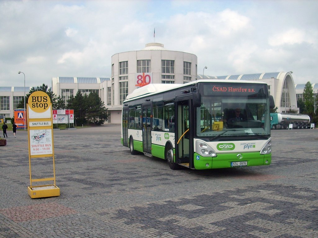 Fotogalerie » Irisbus Citelis 12M CNG 5T4 0976 171 | Brno | Výstaviště BVV