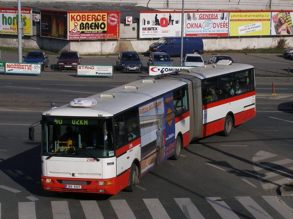 Fotogalerie » Karosa B961E.1970 2388 | Brno | Trnitá | Úzká