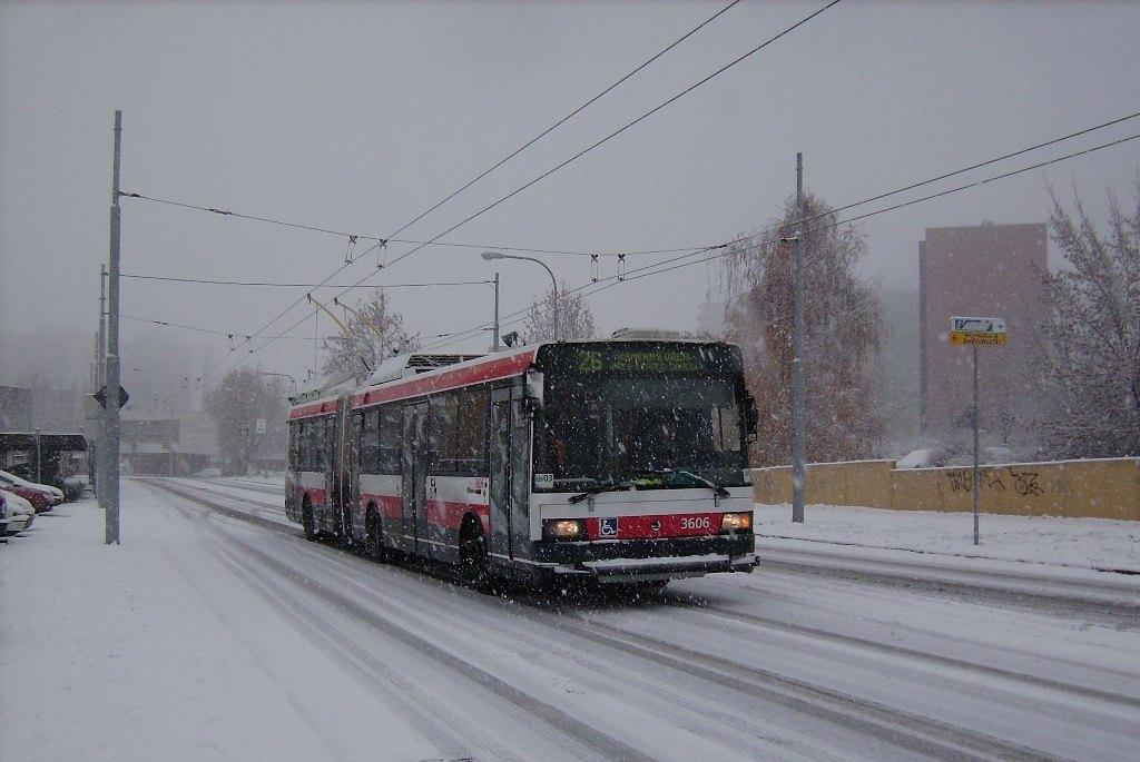 Fotogalerie » Škoda 22Tr 3606 | Brno | Vinohrady | Bzenecká
