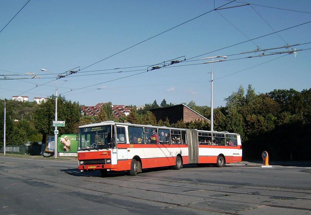 Fotogalerie » Karosa B741.1916 2301 | Brno | Královo Pole | Kosmova